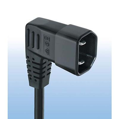 607B  Interconnection Cord with IEC Plug G, Angled